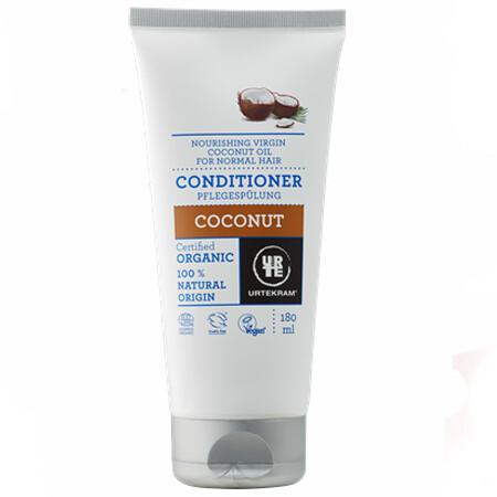 """Urtekram. Кондиционер для волос """"Кокос"""", 180 мл"""