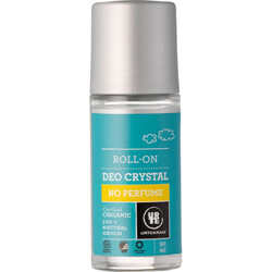 Urtekram. Шариковый дезодорант-кристалл без аромата, 50 мл