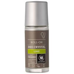 "Urtekram. Шариковый дезодороант-кристалл ""Лайм"", 50 мл"