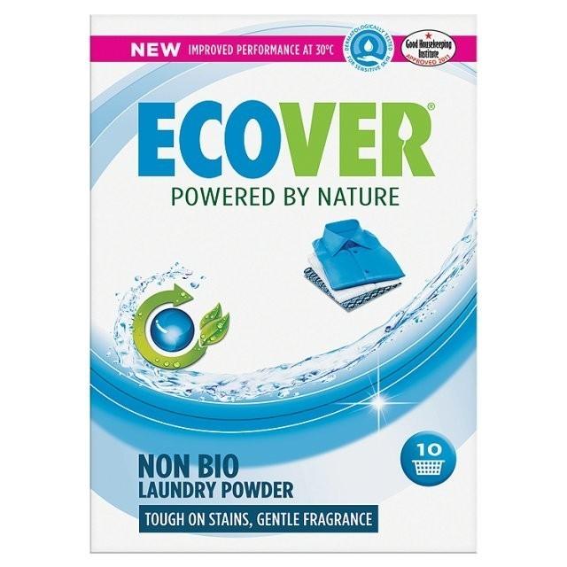 Ecover. Стиральный порошок Non-Bio integrated (с отбеливателем), 750 г
