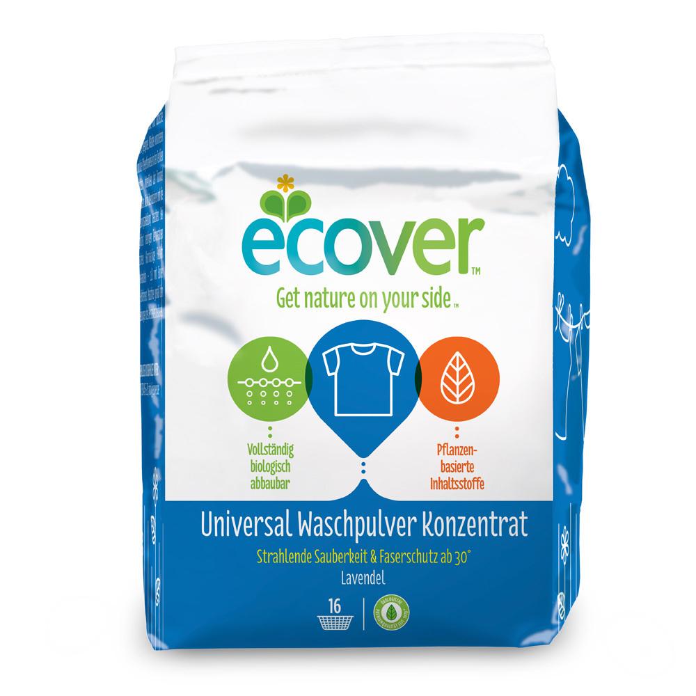 Ecover. Стиральный порошок универсальный, 1200 г
