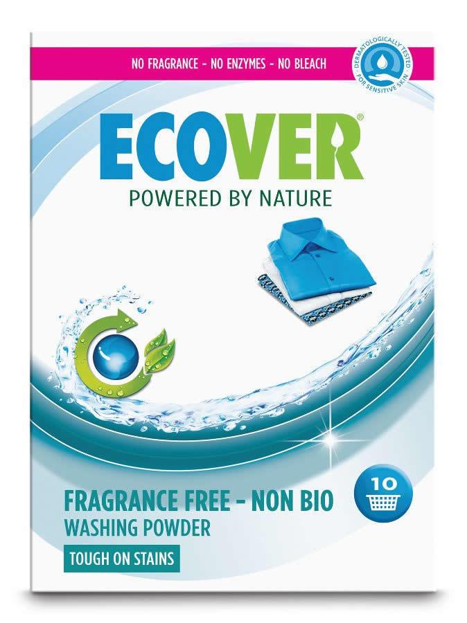 Ecover. Стиральный порошок Non-Bio integrated (с отбеливателем), 1.87 кг