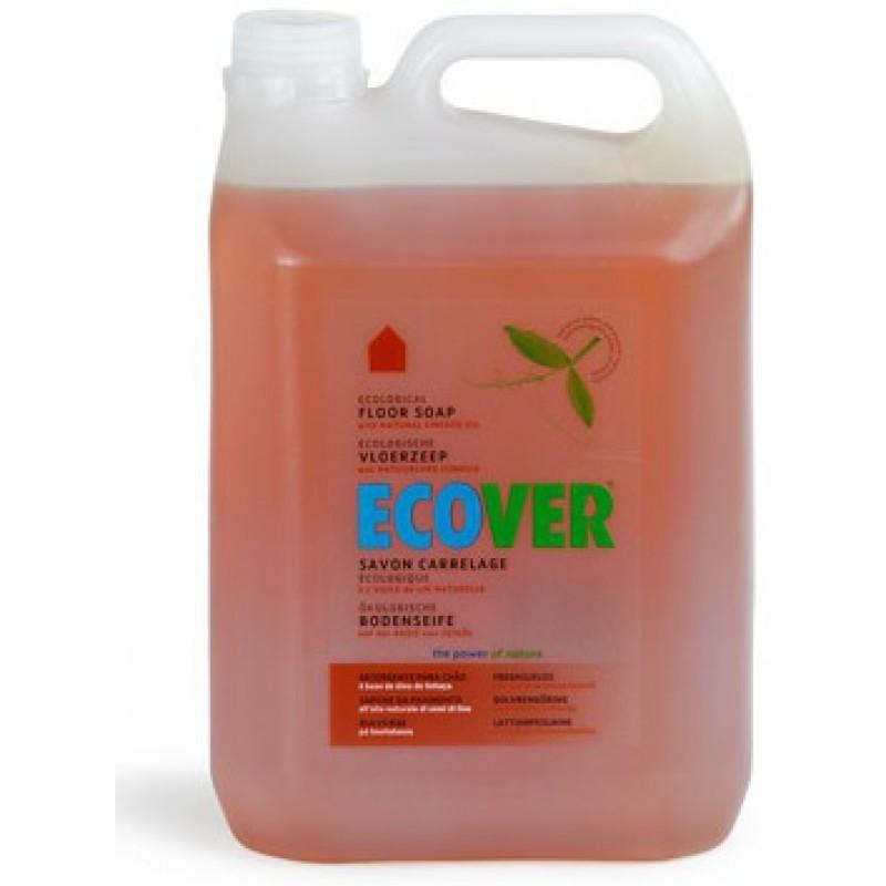 Ecover. Жидкий концентрат с льняным маслом для мытья пола, 5 л