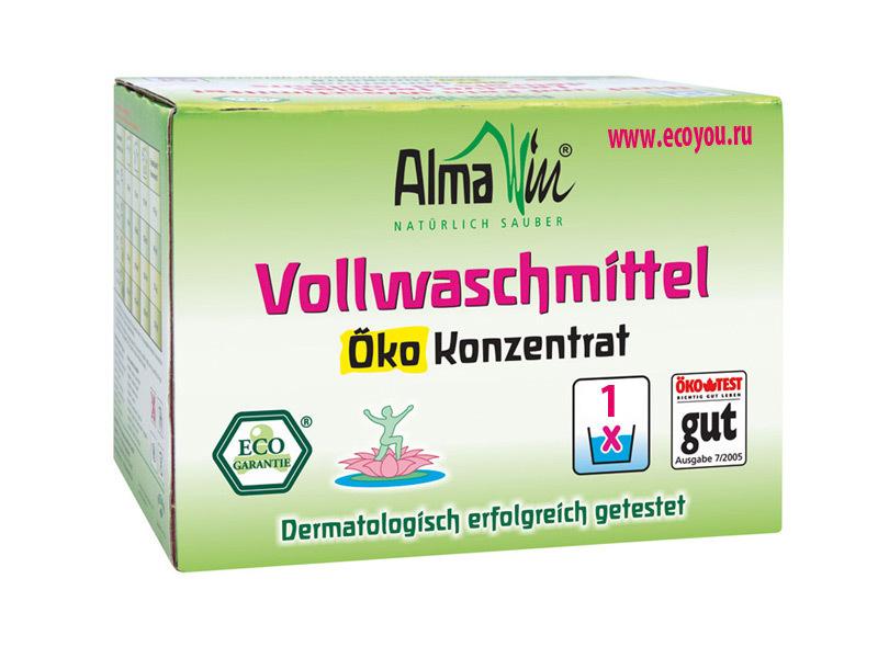 Almawin. Стиральный порошок универсальный Vollwaschmittel, 2 кг
