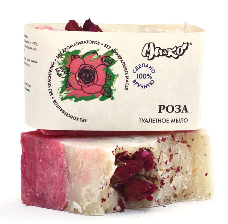 """Ми&Ко"". Туалетное мыло «Роза», 75 г"