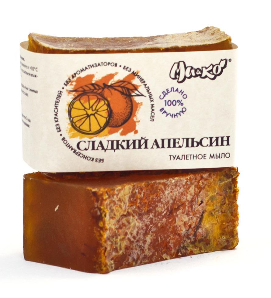 """""""Ми&Ко"""". Туалетное мыло «Сладкий апельсин», 75 г"""
