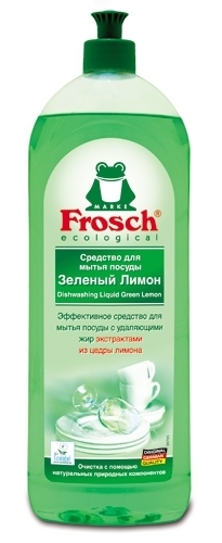 Frosch. Средство для мытья посуды «Лимон», 1 л