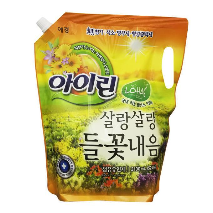 KeraSys. Кондиционер для белья «Полевые цветы» (мягкая упаковка), 2.1 л