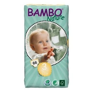 Bambo Nature. Подгузники Midi 3 (5-9 кг), 66 шт.