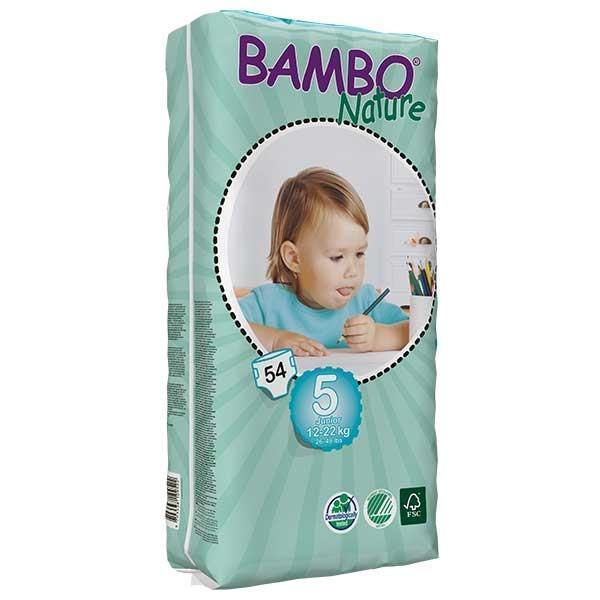 Bambo Nature. Подгузники Junior 5 (12-22 кг), 54 шт.