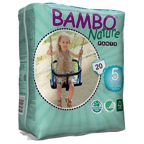 Bambo Nature. Трусики для Pants Junior 5 (12-20 кг), 20 шт.
