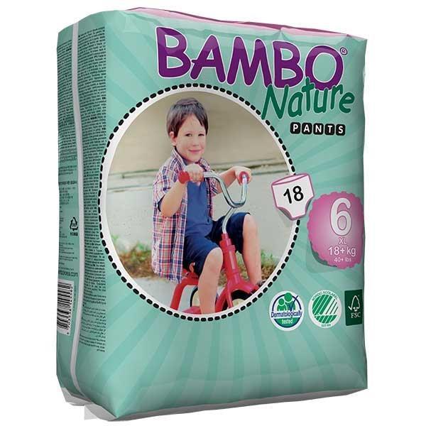 Bambo Nature. Трусики Pants XLPlus 6 (18+ кг), 18 шт.