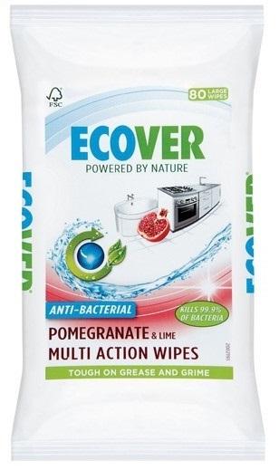 Ecover. Антибактериальные салфетки для уборки, 40 шт.