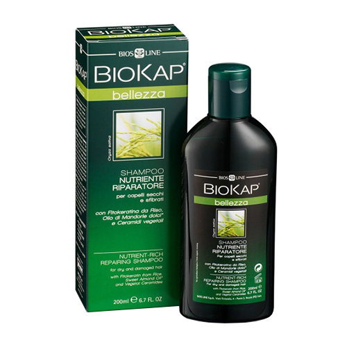 Biokap. Шампунь питательный, восстанавливающий, 200 мл