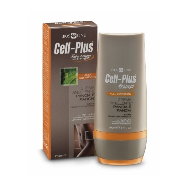 Cell-Plus. HD Крем для похудения в области живота и бедер, 200 мл