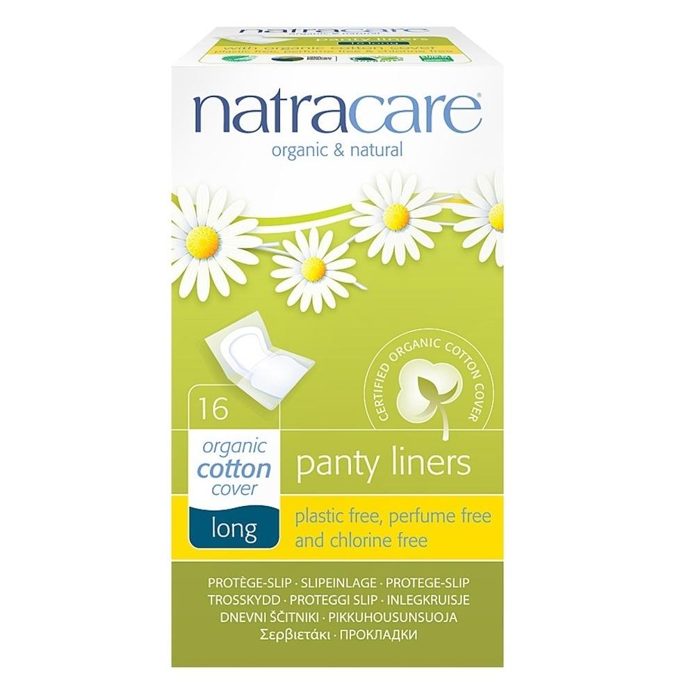 """Natracare. Прокладки на каждый день """"Удлиненные"""", 16 шт. в индивидуальной упаковке"""