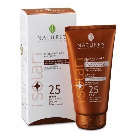 Nature`s. iSolari. Крем солнцезащитный для лица и тела SPF 25