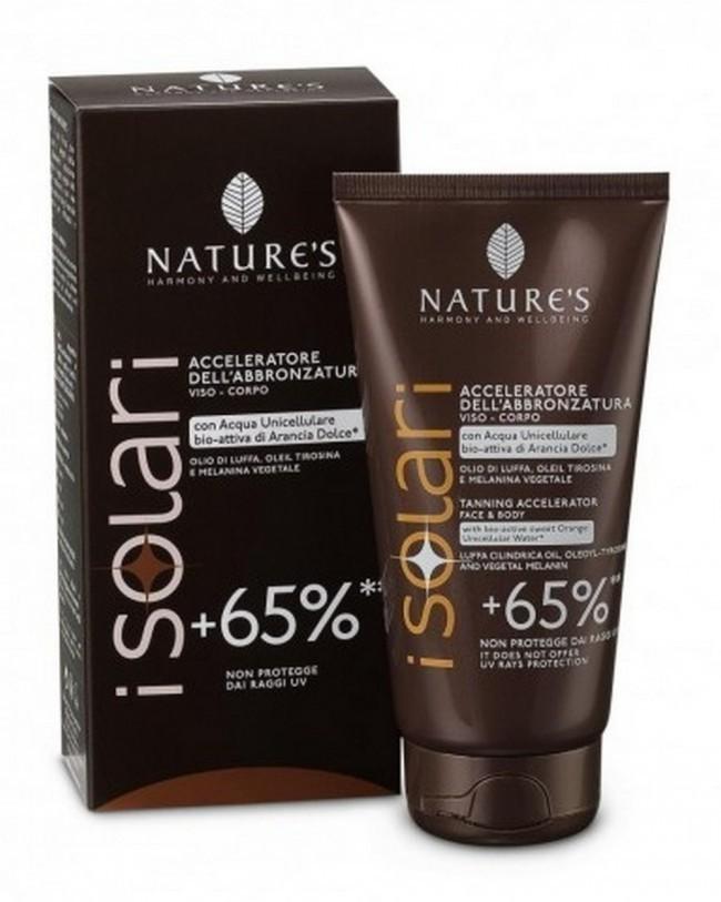 Nature`s. iSolari. Крем усилитель загара +65%, 150 мл