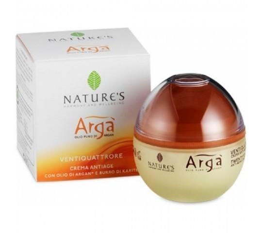 Nature`s. Arga. Крем для лица антивозрастной 24 часа, 50 мл