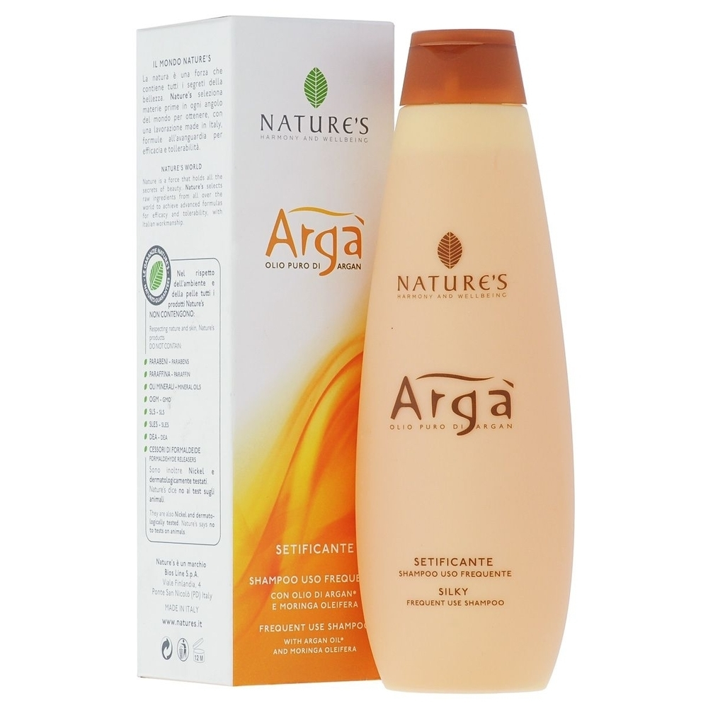 Nature`s. Arga. Молочко очищающее деликатное, 200 мл