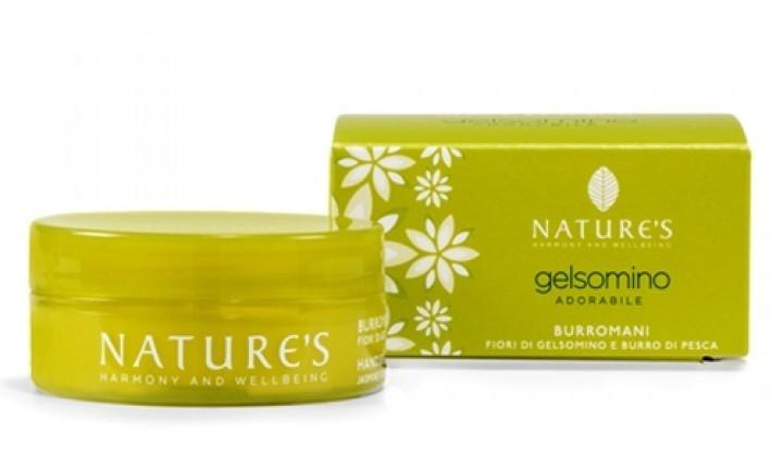 Nature`s. Gelsomino. Крем для рук с жасмином и персиковым маслом, 50 мл