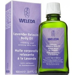 Weleda. Лавандовое расслабляющее масло для тела, 100 мл