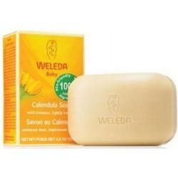 Weleda. Растительное детское мыло с календулой, 100 г
