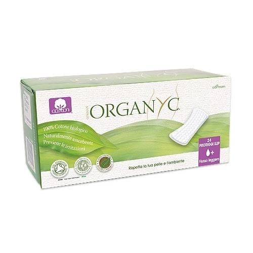 Organyc. Прокладки на каждый день 1+ капля, 24 шт.