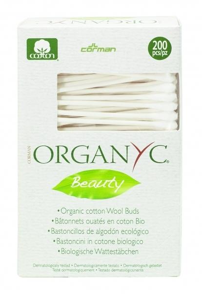 Organyc. Ватные палочки, 200 шт.
