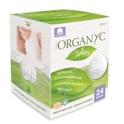 Organyc. Впитывающие вкладыши для груди, 24 шт.