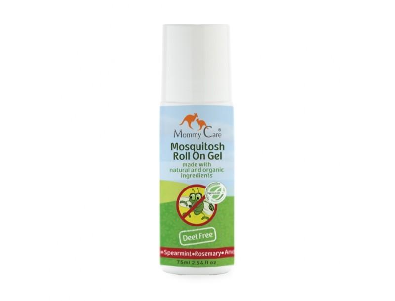 Mommy Care. Роликовый гель для защиты от укусов комаров, 75 мл