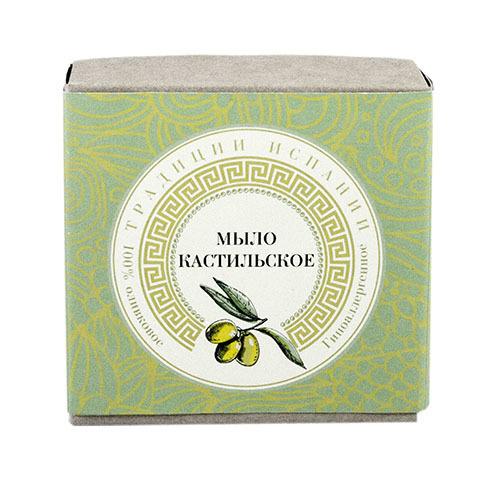 """Клеона. Экзотическое мыло """"Кастильское"""" с оливковым маслом, 120 г"""