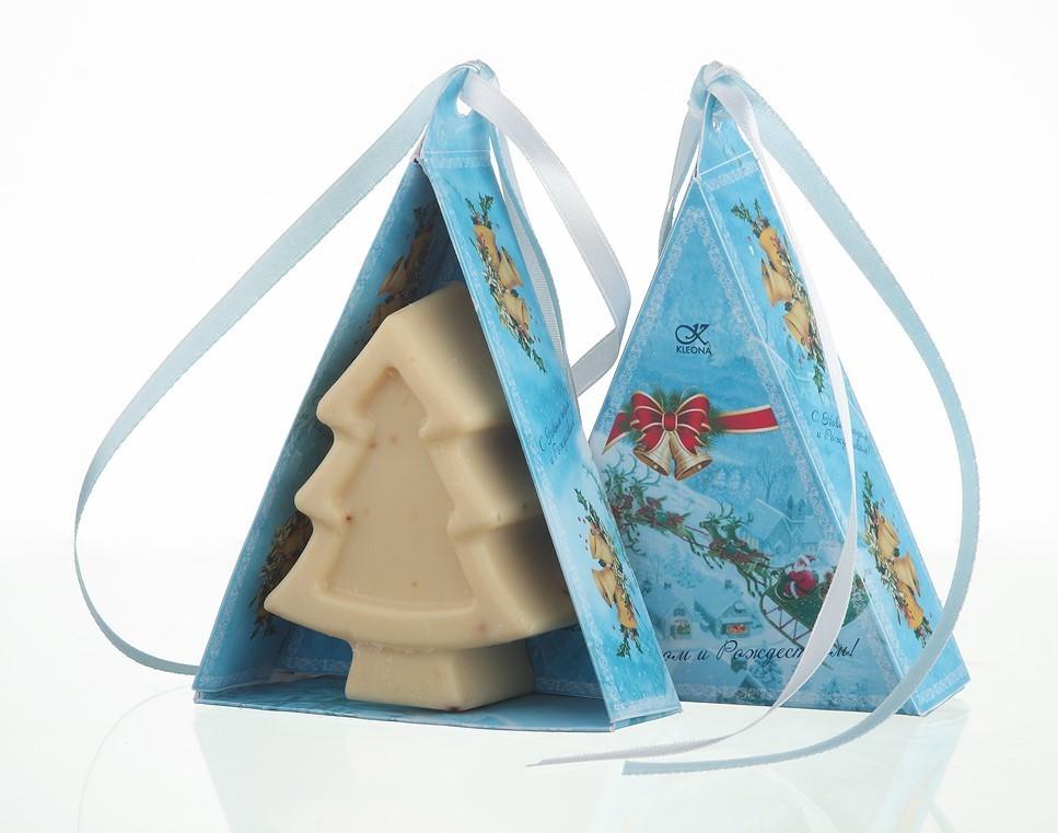 """Клеона. Мыло подарочное """"Рождественский вечер"""", 78 г"""