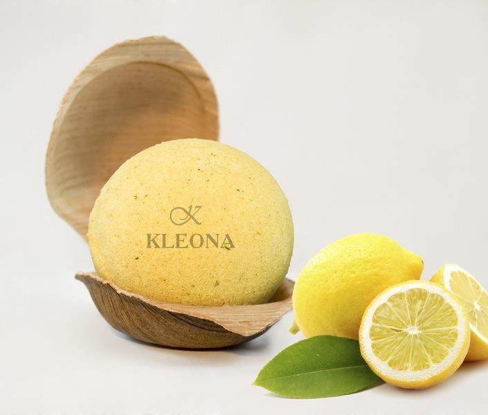 """Клеона. Бурлящий шар """"Лимонный зефир"""", 220 г"""