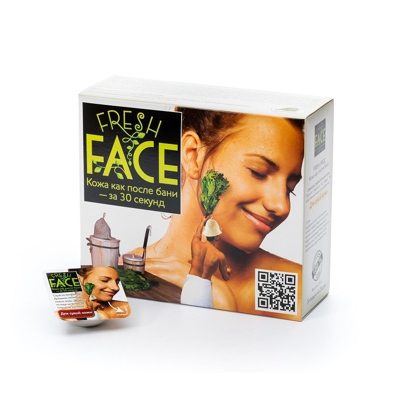 """Биобьюти"". Скраб Fresh Face для сухой кожи, 72 г (Maxi)"