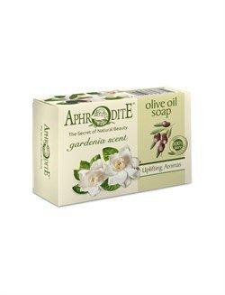 Aphrodite. Мыло оливковое с ароматом гардении, 100 г