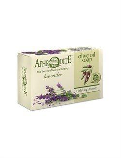 Aphrodite. Мыло оливковое с ароматом лаванды, 100 г