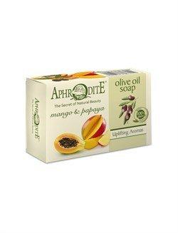 Aphrodite. Мыло оливковое с манго и папайей,  100 г