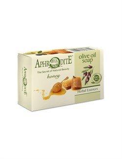 Aphrodite. Мыло оливковое с медом,  100 г