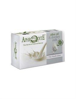 Aphrodite. Мыло оливковое с молоком ослиц, 100 г