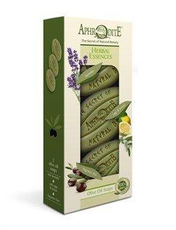 Aphrodite. Набор мыла «Ароматные травы» 3 куска, 255 г
