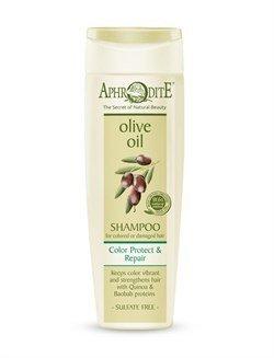 Aphrodite. Шампунь «Защита цвета и восстановление волос» для окрашенных  и поврежденных, 250 мл