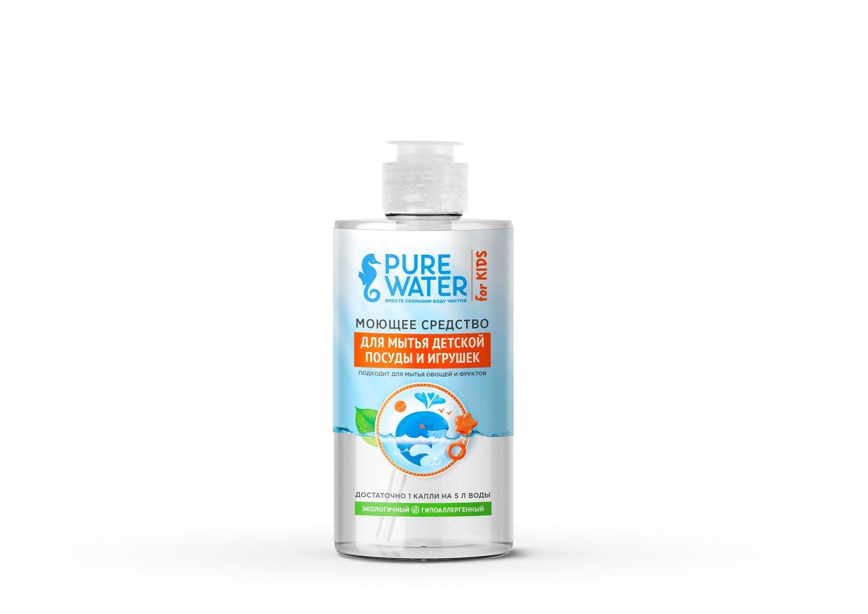 """""""Ми&Ко"""". Моющее средство для мытья детской посуды PURE Water, 450 мл"""