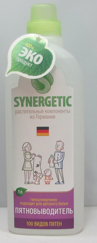Synergetic. Пятновыводитель для стирки, 1 л