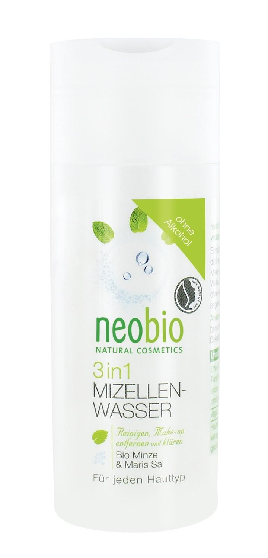 NEOBIO. Мицеллярная вода 3 в 1, 150 мл