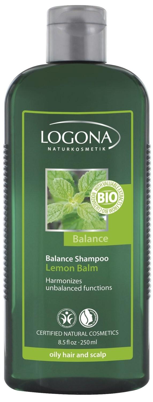 Logona. Шампунь для жирных и комбинированных волос с экстрактом мелисы, 250 мл