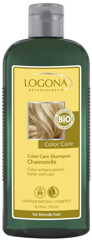 Logona. Color Care. Шампунь для светлых волос с ромашкой, 250 мл