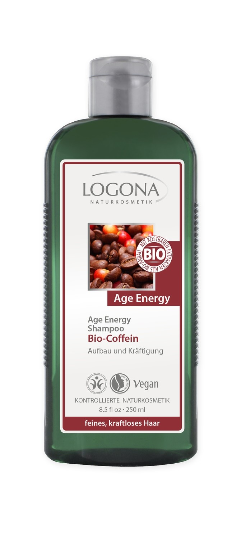 Logona. Age Energy. Шампунь для укрепления волос с биокофеином, 250 мл
