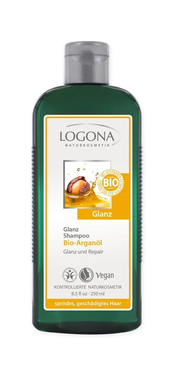 Logona. Шампунь для блеска с биоаргановым маслом, 250 мл