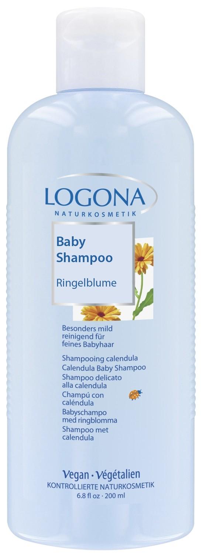 Logona. Шампунь с календулой для младенцев Logona, 200 мл
